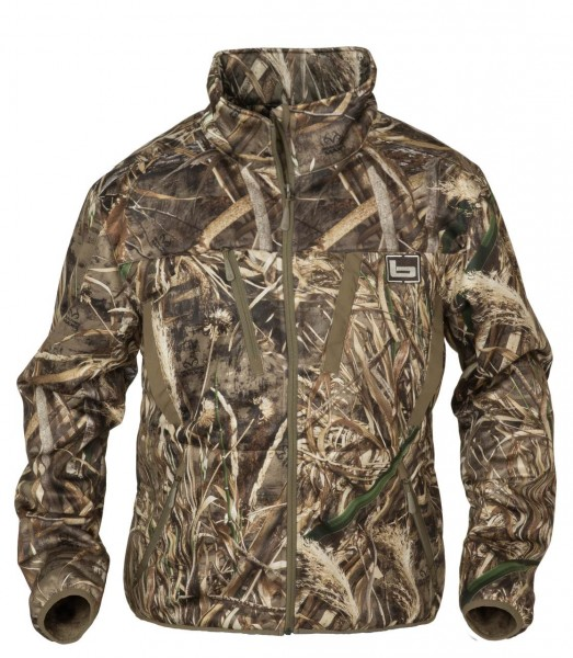 Banded Soft-Shell Jacket