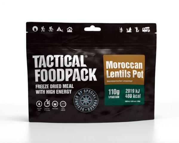 Outdoornahrung Marokkanischer LInsentopf