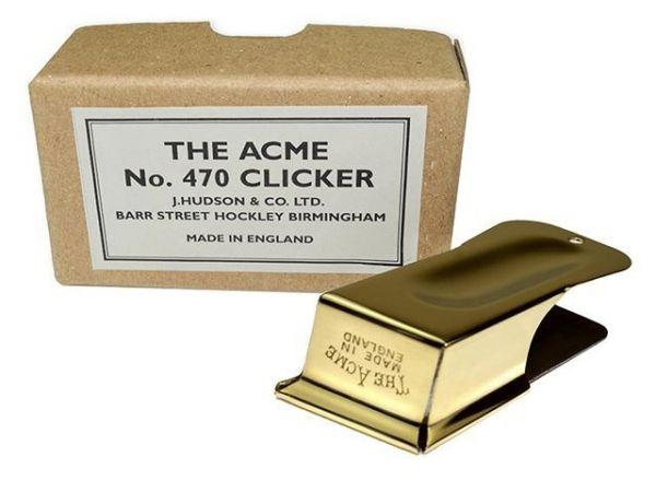 ACME Klicker 470 für Klickertraining und klassische Konditionierung
