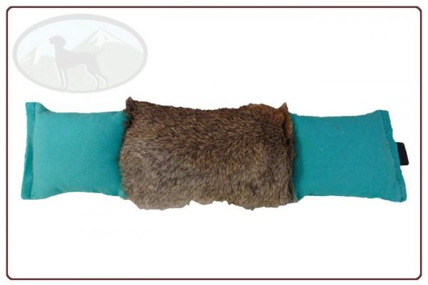 3teiliger Baumwolldummy mit Fellbesatz