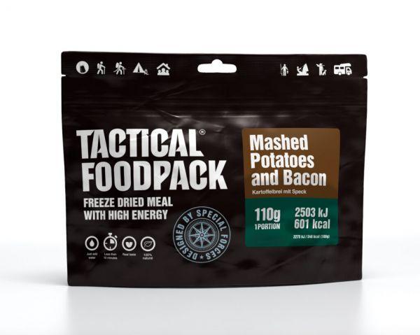 Kartoffelbrei mit Speck - hoch energetische Outdoormahlzeit