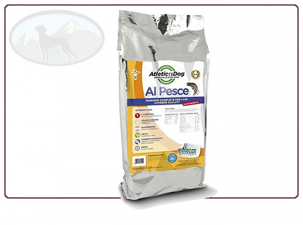 Atletic Dog Hundefutter Mantenimento Pesce